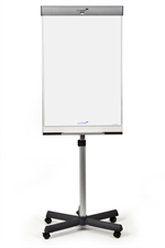 Professional Triangle Mobile Flipchart Star Base - Emalje